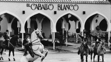El Caballo Blanco in 1983