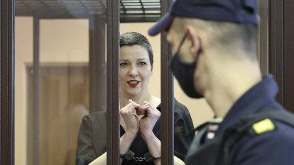 Top Belarus opposition figure sentenced to 11 years in jail