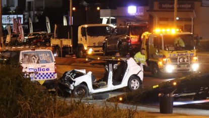 One man dead, another critical after car runs red light in Brisbane's north