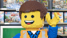 """""""We couldn't believe our luck."""" LEGO sales have soared since Richard Facioni's Alceon opened its first stand-alone LEGO stores."""