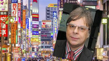 Craig Peacock in Japan