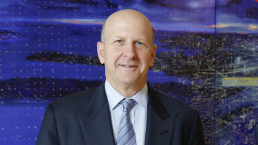 The Wall Street giant may also force chief executive officer David Solomon (pictured) and his predecessor Lloyd Blankfein to return some of their compensation.