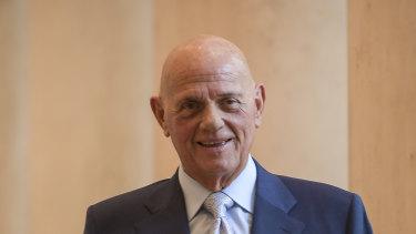 Solomon Lew, Myer's largest shareholder.