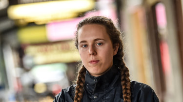 """I didn't realise when I first got hired that I was being underpaid,'' cafe worker Anna Langford."