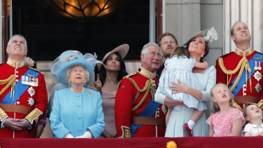 Trooping the color in 2018: Today, things are not looking up for Prince Andrew.