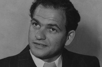 Sydney nightclub owner Abe Saffron in 1951.