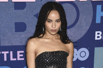 New Catwoman: Zoe Kravitz at premiere of HBO's Big Little Lies season two.