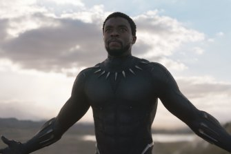 West invoked the fictional nation Wakanda, from Marvel's Black Panther.