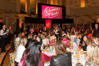 A Business Chicks event held in New York.