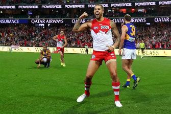 Lance Franklin, making his comeback this weekend, needs 56 more goals to become the sixth player into the 1000-goal club.