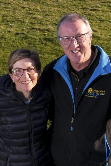 Karen Green and Robert Newall.