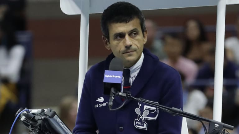 Portuguese chair umpire Carlos Ramos has long been willing to enforce the rules by the book with the game's stars.