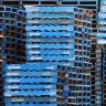 Coles boss Steven Cain has warned of a shortage of pallets.
