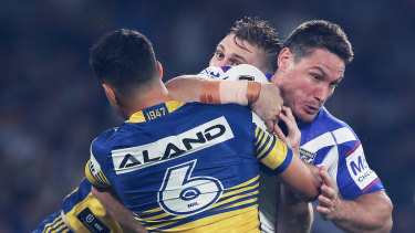 The Eels and Bulldogs would be pitted against each other in a Sydney conference.