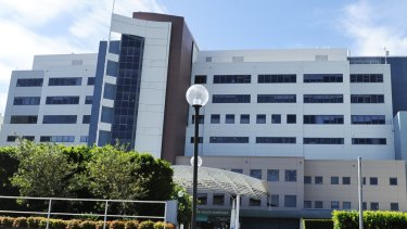 A man has died after being restrained at handcuffed at Prince of Wales Hospital in Randwick.
