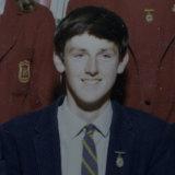 A young John Doyle as a prefect at De La Salle Academy in Lithgow.
