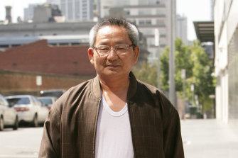 Political secretary Choi Dong Song.