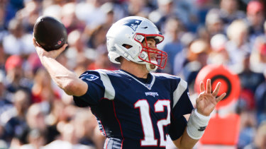 Tom Brady and his Patriots are off to a 3-0 start to the season.