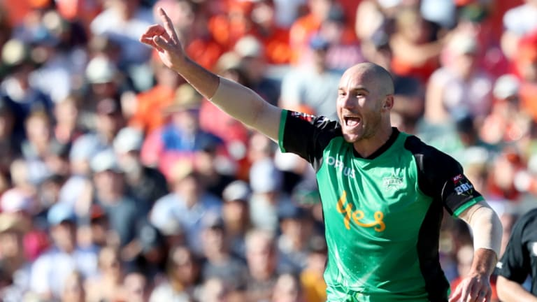 John Hastings has been afflicted by a condition that causes him to cough blood when he bowls.