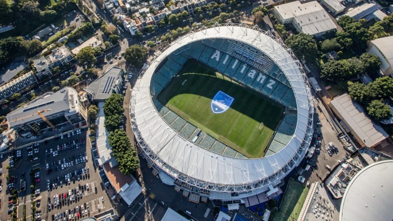 Allianz Stadium at Moore Park will be knocked down and rebuilt.