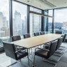 The boardroom in Henry William Lawyer's new digs on 420 George St, Sydney.