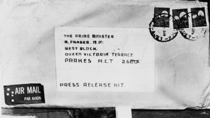 From the Archives, 1975: Letter bombs sent to Prime Minister, Premier