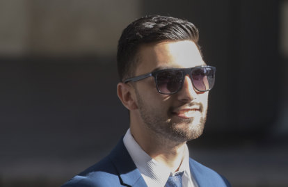 Sydney teacher on trial for allegedly sexually assaulting a woman he met online