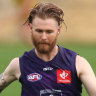 McCarthy back at Dockers training two days after collapse