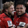Crusaders rest players but still post record win over Chiefs