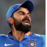 Australia v India ODI LIVE updates: Kohli makes 21 as Australia record 66-run victory