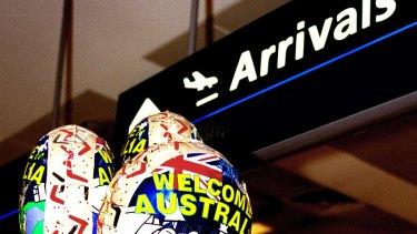 """""""Plane people"""" are seeking asylum in Australia in greater numbers."""