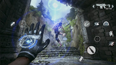 iPhone game Bright Memory was made using Epic's Unreal Engine.
