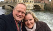 Ingo and Kirsten Moench have booked tickets on a Singapore-Frankfurt flight for vaccinated passengers.