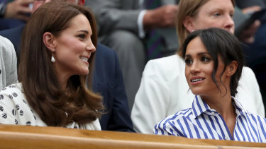 Hateful online comments escalated after reports of a feud between duchesses Catherine and Meghan.
