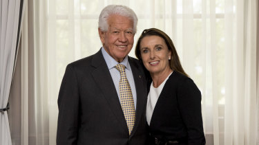 Blackmores' biggest shareholder Marcus Blackmore and his wife Caroline