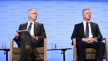News Corp's Michael Miller and Nine's Hugh Marks have been strong advocates of the proposed news media bargaining code.