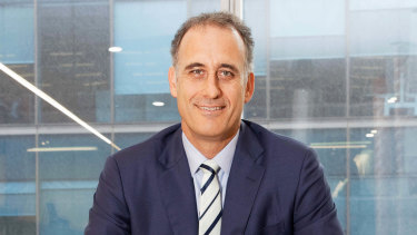 Wesfarmers' managing director Rob Scott  isn't about to bet the balance sheet.