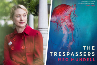 Meg Mundell's The Trespassers is set on board a ship during a deadly pandemic (yes, really).