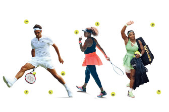 Lucrative endorsement deals mean Roger Federer has become the first tennis player to be the world's highest-paid athlete and Japan's Naomi Osaka the world's best-paid female athlete; female superstars like Serena Williams earn millions, yet other women players barely scrape a living together.