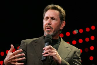 Oracle co-founder Larry Ellison was omnipresent at Theranos in its early days.