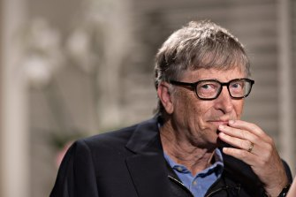 Bill Gates, who ruled Microsoft with laser focus until surprising many by resigning in 2000 at the age of only 44.