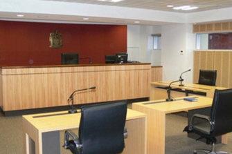 Inside the chief examiner's formal examination room.