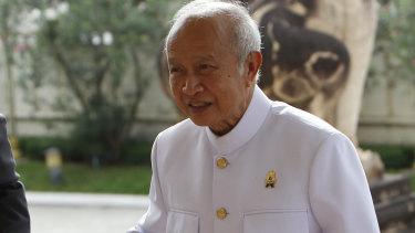 Cambodian Prince Norodom Ranariddh last year.
