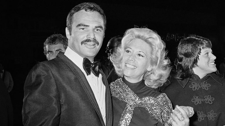 Reynolds and Dinah Shore in 1971.