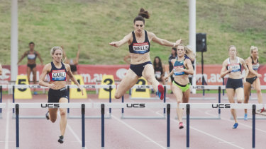 Lauren Wells is chasing a record-extending 12th national title in the 400 metres hurdles.