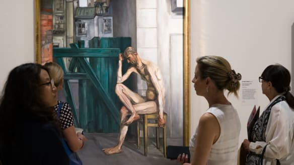 Nude gender quotas won't be put in place says Art Gallery of NSW