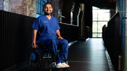 Quadriplegic Gold Coast spinal doctor is Queensland's Australian of the Year
