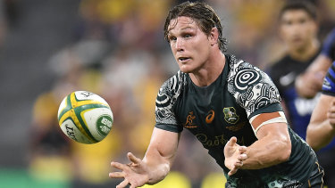 Michael Hooper and the Wallabies have won four straight Tests.