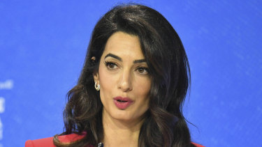 "Human rights lawyer Amal Clooney said she was ""dismayed"" by the government's actions."