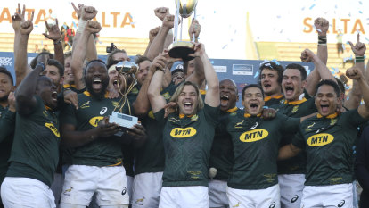 Springboks send World Cup warning after claiming Rugby Championship